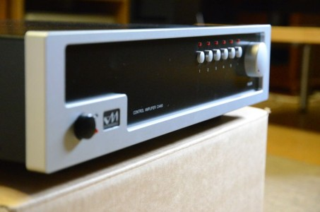 Pre-amplificateur Van MEDEVOORT CA 460: le déballage