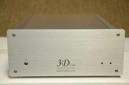 """3D Lab Nano Network Player: lecteur réseau avec DAC intégré, avec traitement du DSD en """"natif"""""""