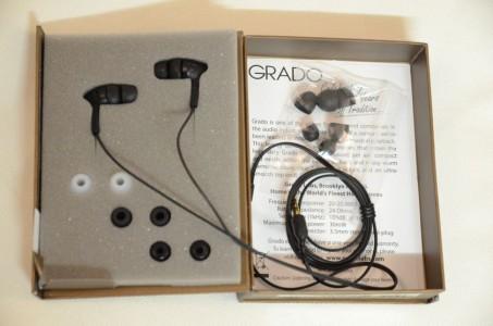 Grado IGI:  écouteurs intra-auriculaires au déballage: discrétion et sobriété (simplisme ?) du design, mais grande qualité sonore