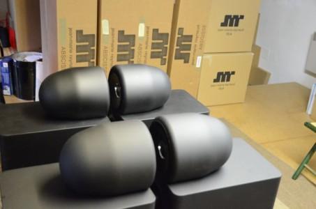 L'enceinte JMR Abscisse, la plus vendue.