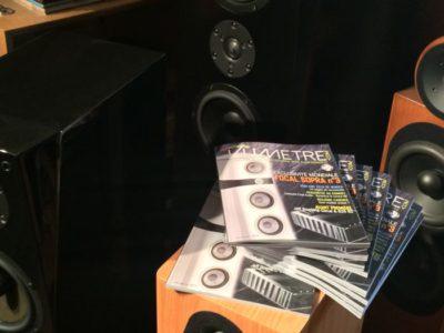 Vumètre n° 5: la revue est disponible chez Enceintes et Musiques