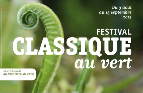 Classique au vert 2013: le festival de musique classique au Parc Floral de Vincennes
