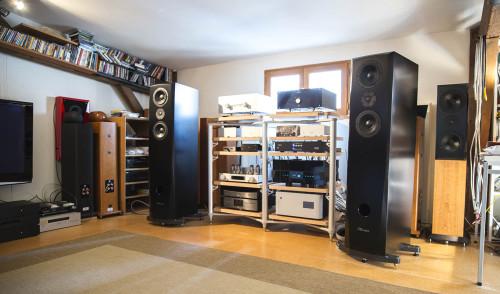 12 mars 2016: un caillou blanc chez Enceintes et Musiques !