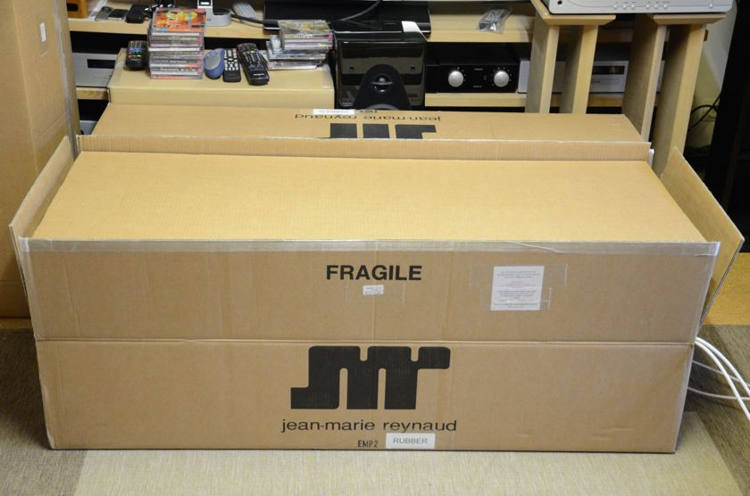 JMR EMP2 enceintes rodage