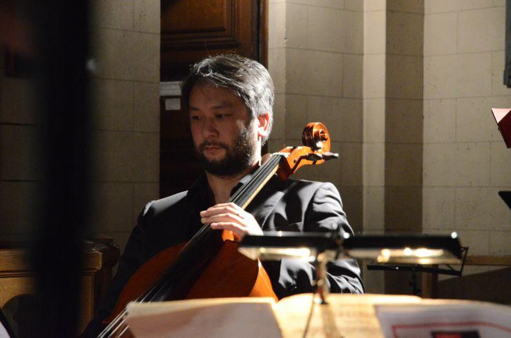 Eric-Maria Couturier  Concert la Chambre d'Amis 5 avril 2013